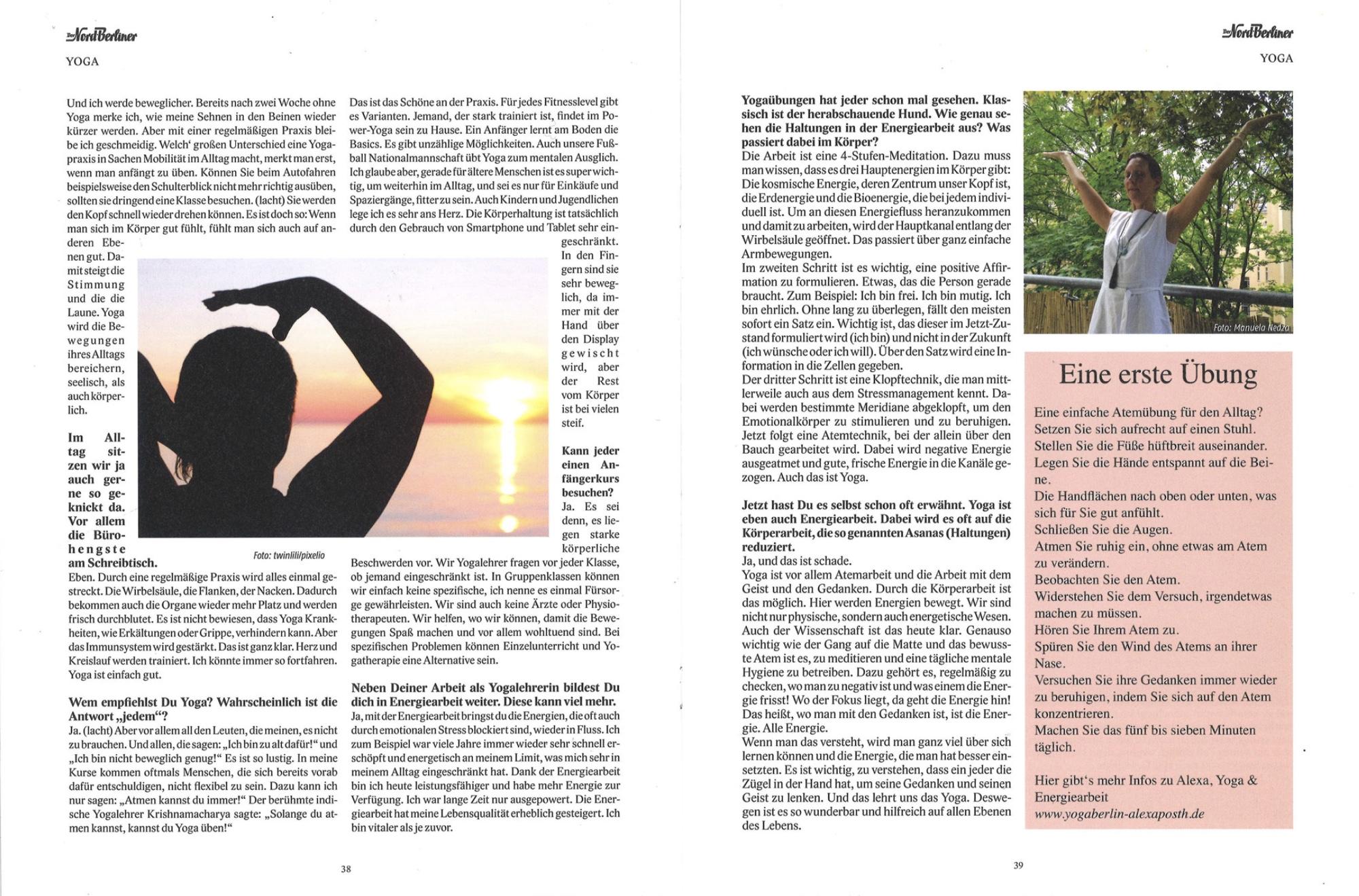 Interview Nord-Berliner Alexa Posth 2
